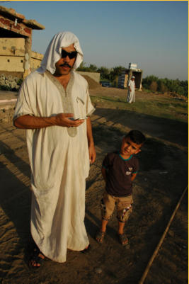 Father, Dhaighan and his son, Abud